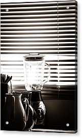 Slatted Shadows Acrylic Print
