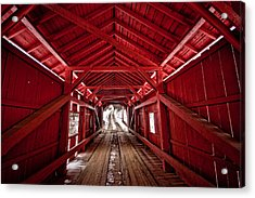 Slaughterhouse Red Acrylic Print