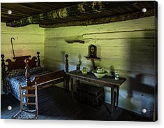 Acrylic Print featuring the photograph Slave Quarters - The Hermitage by James L Bartlett