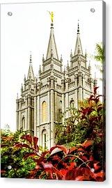 Slc Temple Angle Acrylic Print