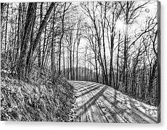 Sleep Hallow Road Acrylic Print