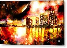 Sleeper Acrylic Print by Ken Walker
