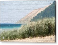 Sleeping Bear Sand Dune Acrylic Print by Dan Sproul
