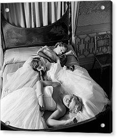 Sleeping Beauties Acrylic Print