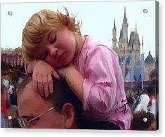 Sleeping Beauty Acrylic Print by Lori Enyart