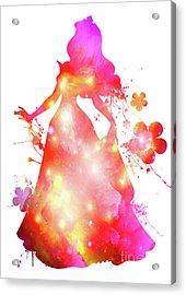 Sleeping Beauty  Acrylic Print by Prar Kulasekara