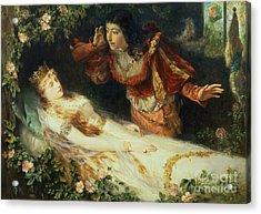 Sleeping Beauty Acrylic Print by Richard Eisermann