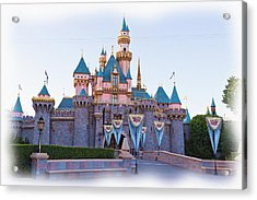 Sleeping Beauty's Castle Disneyland Acrylic Print