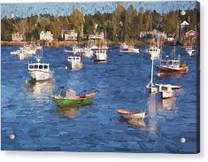 Sleeping Boats IIi Acrylic Print