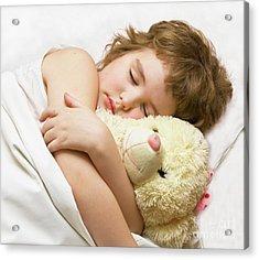 Sleeping Boy Acrylic Print