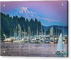 Sleeping Giant Acrylic Print by Inge Johnsson