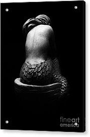 Sleeping Mermaid Acrylic Print