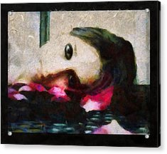 Sleeping On Petals Makes My Dream Flourish Acrylic Print