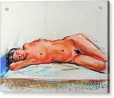 Sleepingblue Acrylic Print