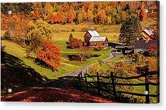 Sleepy Hollow - Pomfret Vermont-2 Acrylic Print
