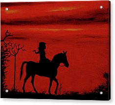 Sleepy Hollow Acrylic Print by Robert Marquiss