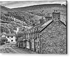 Sleepy Welsh Village Acrylic Print