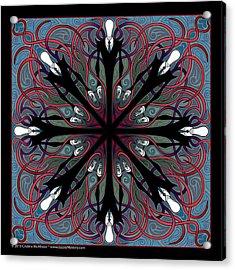Slendermandala 2 Acrylic Print