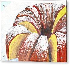Sliced Bundt Cake Acrylic Print