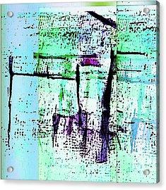 Slide Away Acrylic Print by KA Davis
