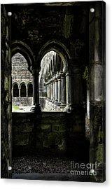Acrylic Print featuring the photograph Sligo Abbey Interior by RicardMN Photography