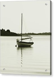Sloop At Rest  Acrylic Print by Roupen  Baker