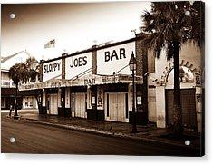 Sloppy Joe's - Key West Florida Acrylic Print