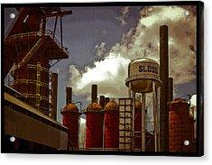 Sloss Furnace Poster Acrylic Print