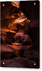 Slot Canyon Red Acrylic Print