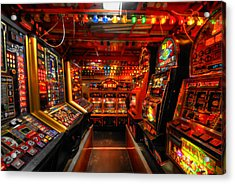 Slot Machines Acrylic Print