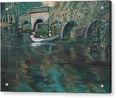Slow Boat - Lmj Acrylic Print
