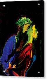 Acrylic Print featuring the digital art Slow Dance by Rabi Khan