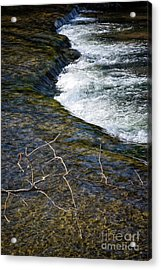 Slow Water Movement Acrylic Print
