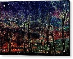 Slumbering Sun Acrylic Print