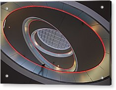 Sma Solar Technology Is Partially Acrylic Print by Michael Melford