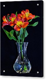 Small Bouquet Of Flowers Acrylic Print