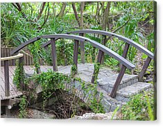 Acrylic Print featuring the photograph Small Brown Bridge by Raphael Lopez