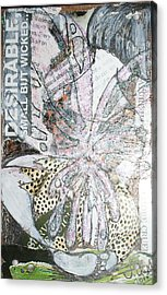 Small But Wicked Acrylic Print by Joanne Claxton