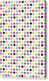 Small Dots Acrylic Print