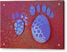 Small Feet And Big Feet 27 Acrylic Print by Jean Francois Gil