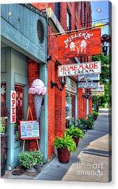 Small Town America 2 Acrylic Print by Mel Steinhauer