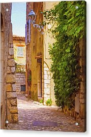 Small Town France Acrylic Print