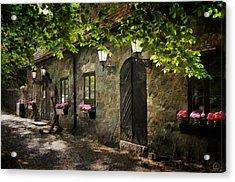 Small Town Idyll Acrylic Print