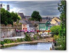 Small Town Ireland Acrylic Print