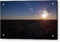 Small Town Sun Acrylic Print