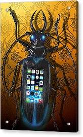 Smart Phone Acrylic Print by Larry Butterworth