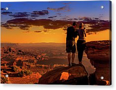 Smartphone Photo Opportunity Acrylic Print