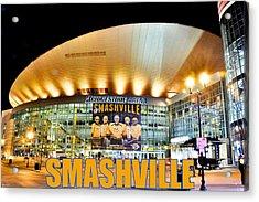 Smashville Acrylic Print