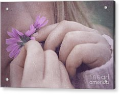 Smell Life - V05t Acrylic Print by Variance Collections