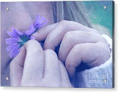 Smell Life - V06t2 Acrylic Print by Variance Collections